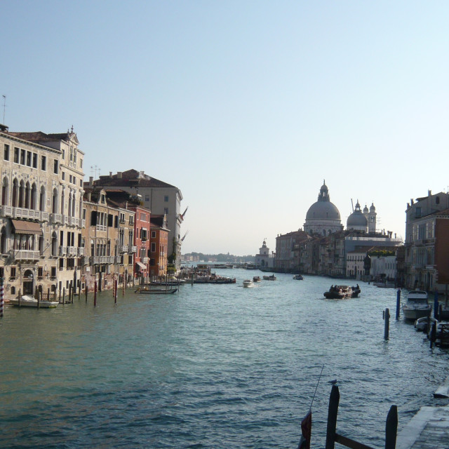 """Grand Canal, Venice (1)"" stock image"