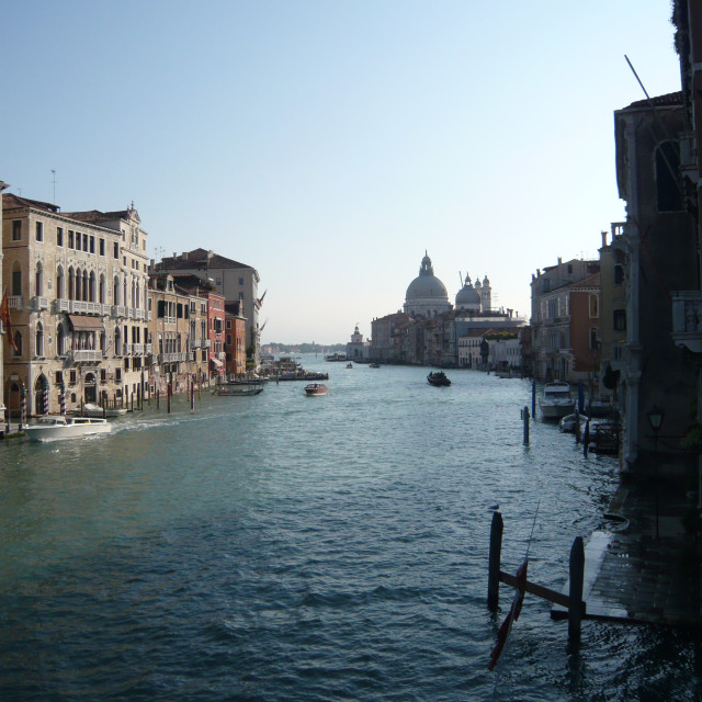 """Grand Canal, Venice (2)"" stock image"