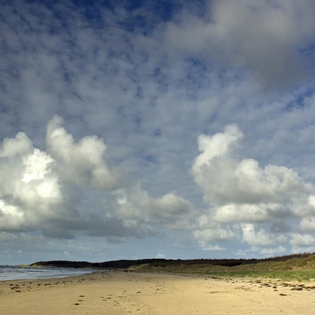 """Newborough Beach Anglesey North Wales"" stock image"