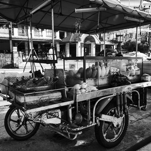 """Street Food Cart, Phuket"" stock image"
