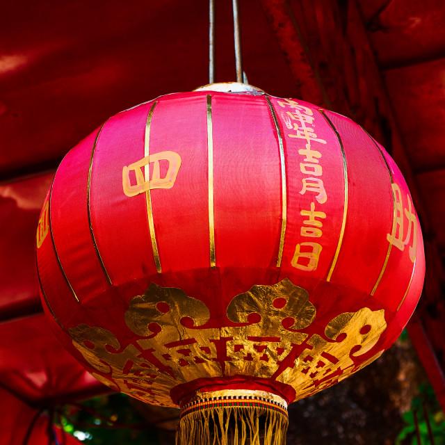 """""""Chinese Lantern"""" stock image"""