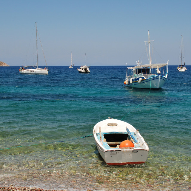 """Tilos island, Greece"" stock image"