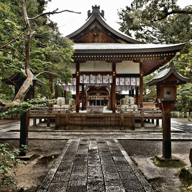 """Hirano Shrine Kyoto"" stock image"