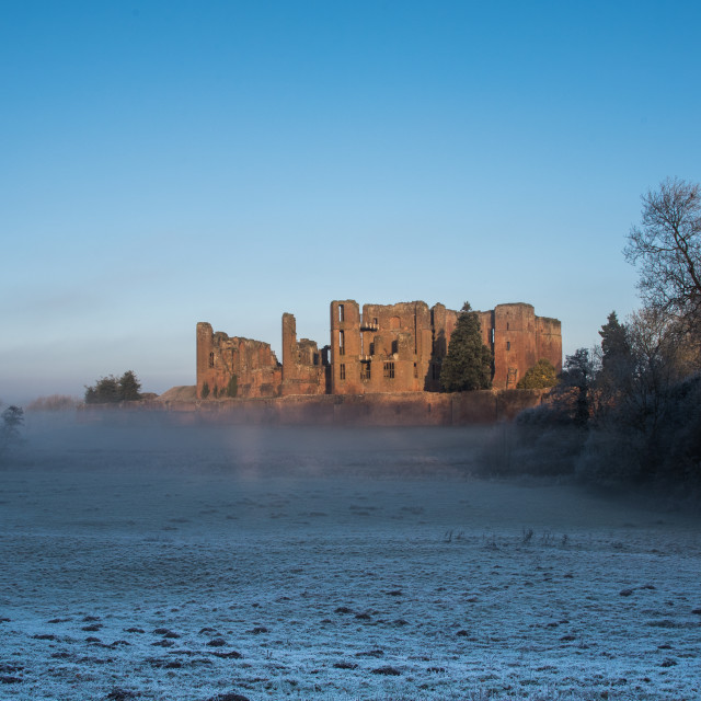 """Kenilworth Castle"" stock image"