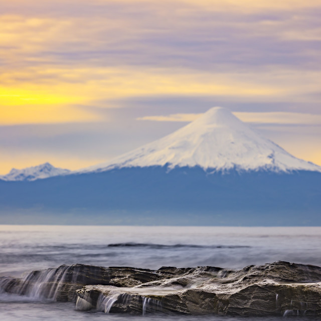 """LLanquihue lake"" stock image"