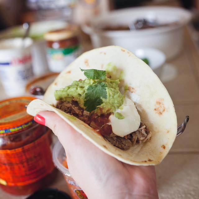 """""""Taco Tuesday"""" stock image"""