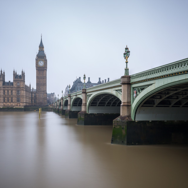 """Westminster Bridge"" stock image"