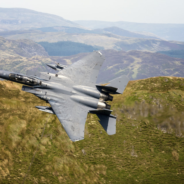 """F-15 Eagle"" stock image"
