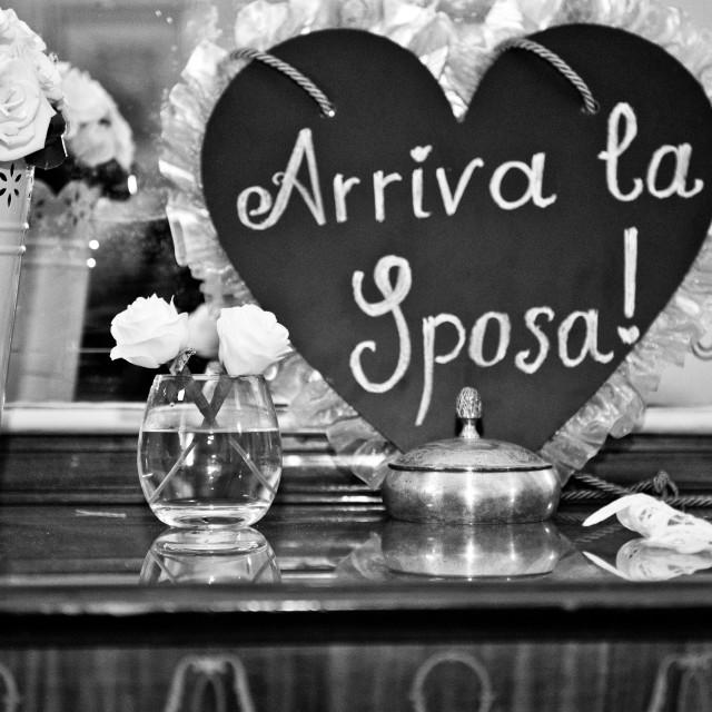 """""""Wedding"""" stock image"""