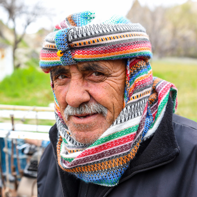 """Cappadocia cafe owner"" stock image"
