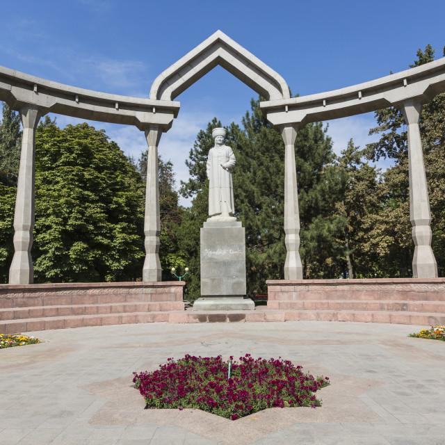"""Kurmanjan Datka Monument. Bishkek. Kyrgyzstan."" stock image"