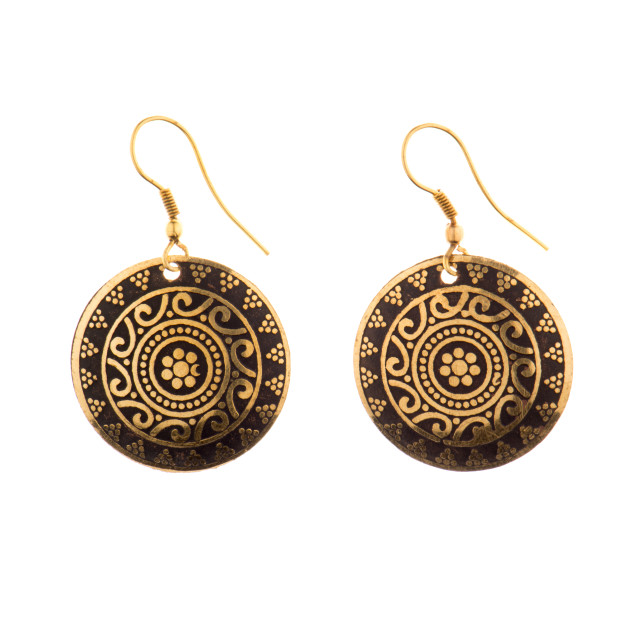 """""""Indian traditional earrings"""" stock image"""