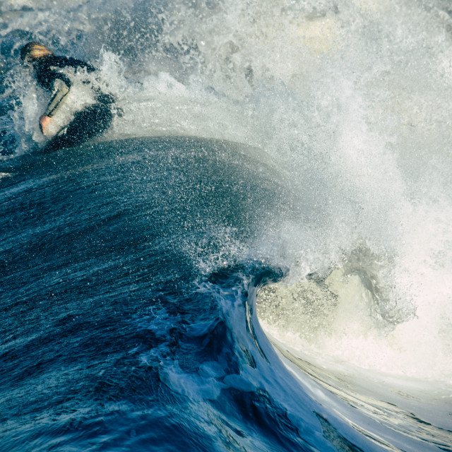 """Surf Happens"" stock image"
