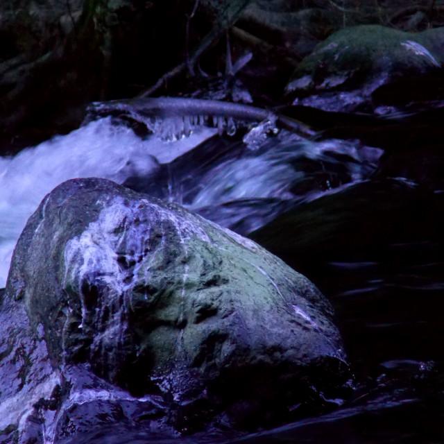 """""""River Resting Spot"""" stock image"""