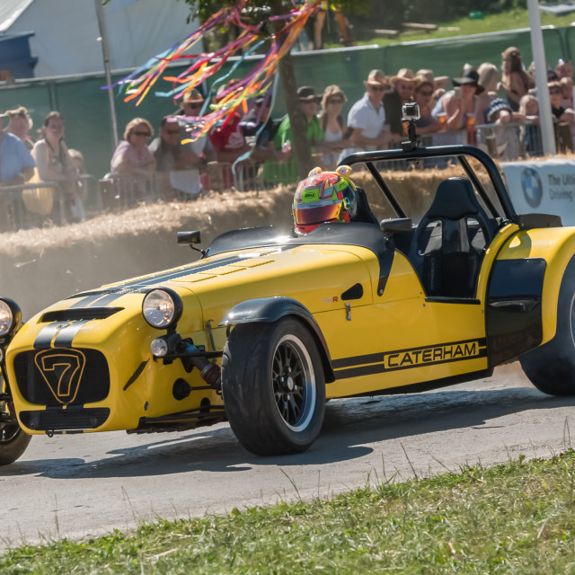"""Caterham 7 sports-car"" stock image"