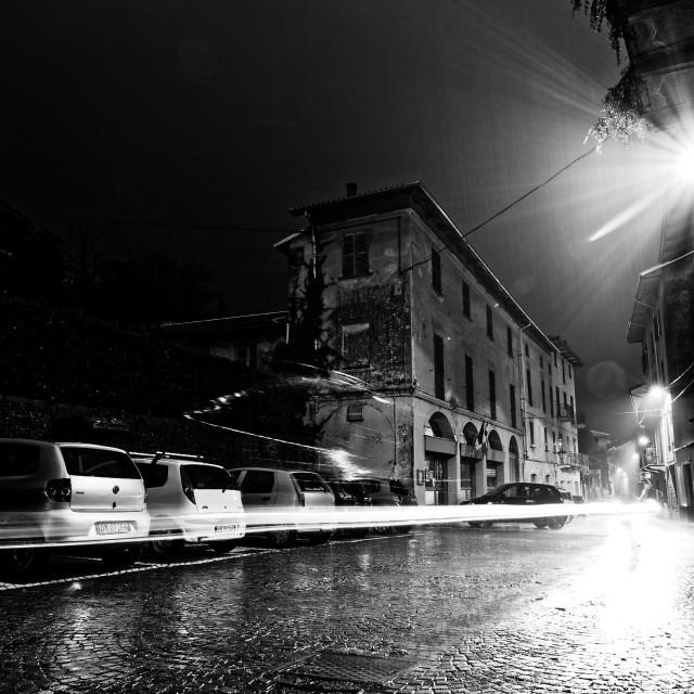 """Rain Light"" stock image"