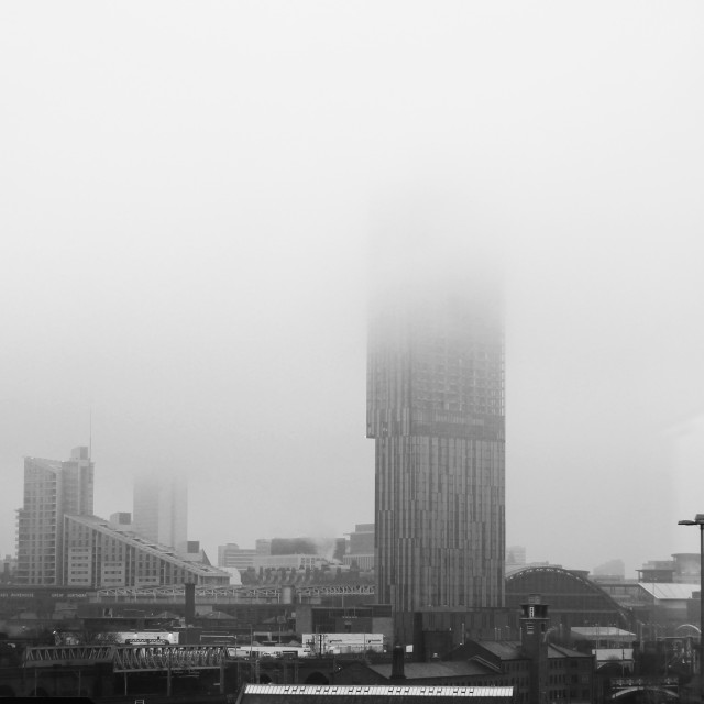 """Foggy City"" stock image"