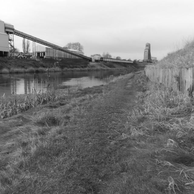 """River Walk"" stock image"