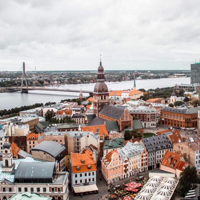 """""""Riga, Latvia"""" stock image"""