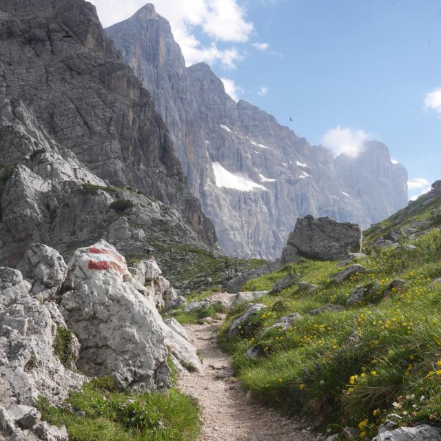 """Italian alps"" stock image"