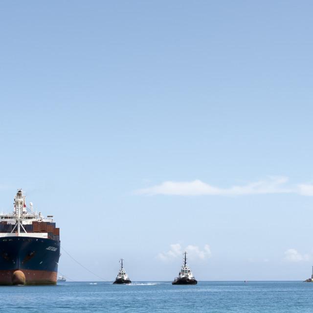"""""""Shipping lane"""" stock image"""