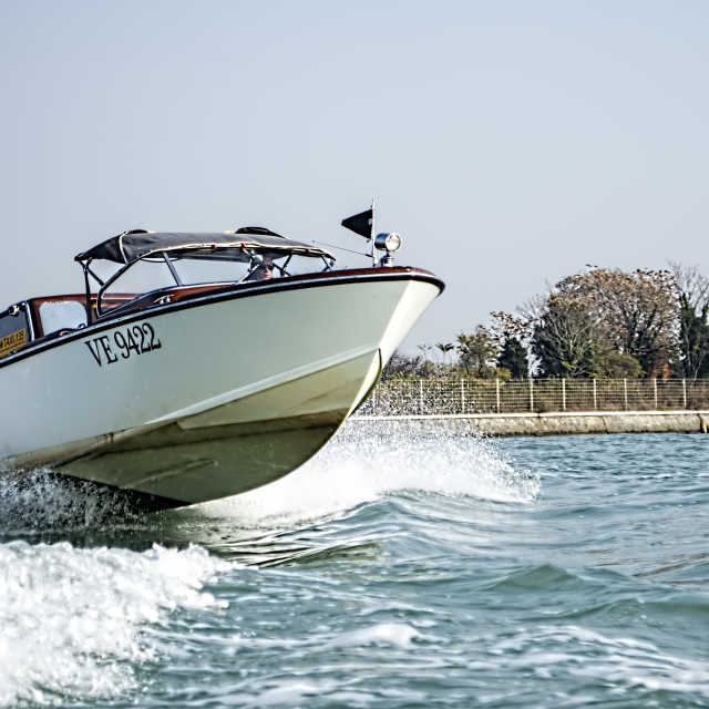"""""""Water Taxi"""" stock image"""