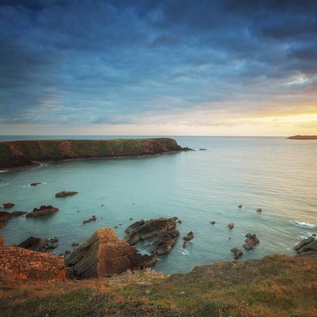 """Gateholm Island, Pembrokeshire."" stock image"
