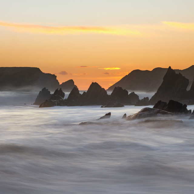 """Marloes Beach"" stock image"