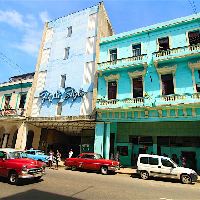 """Central Havana, Cuba"" stock image"