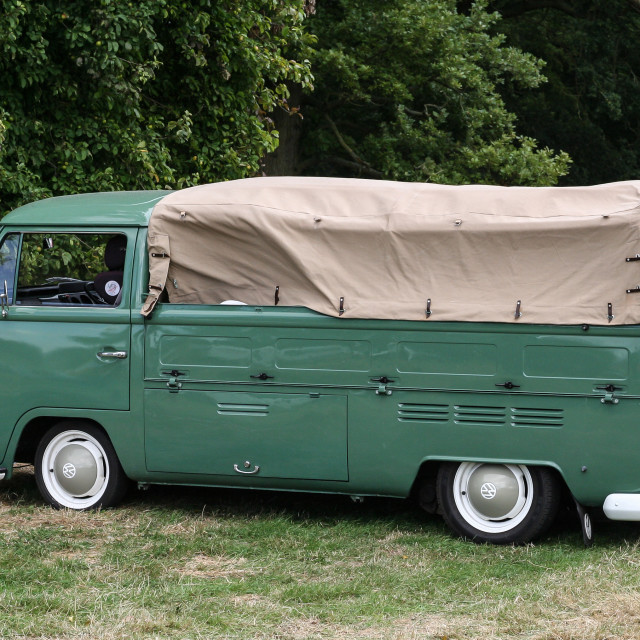 """Vw Type 2 Canvas back Pickup"" stock image"