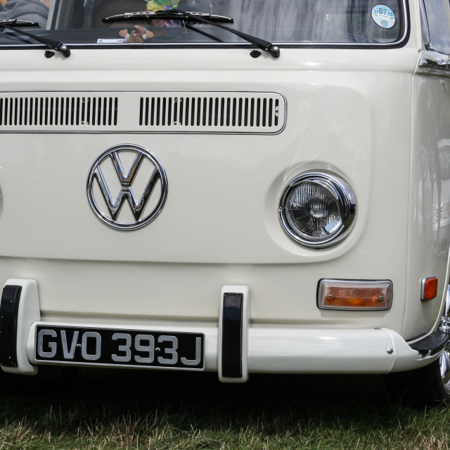 """Vw Campervan Type 2"" stock image"