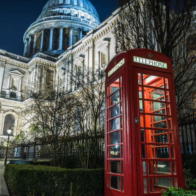 """St Paul's Call"" stock image"
