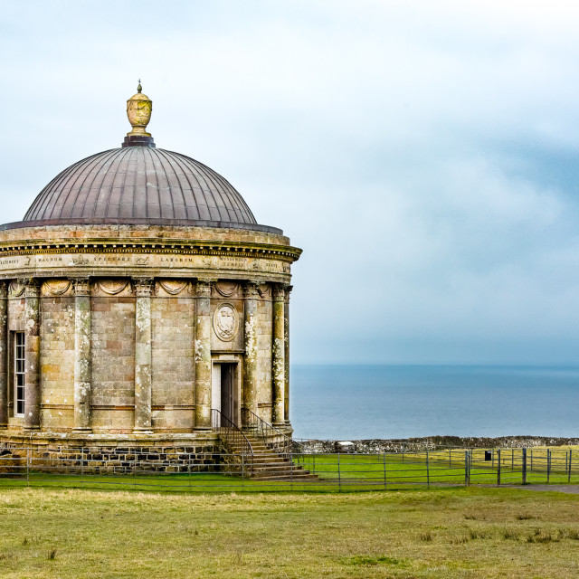 """The Mussenden Temple"" stock image"