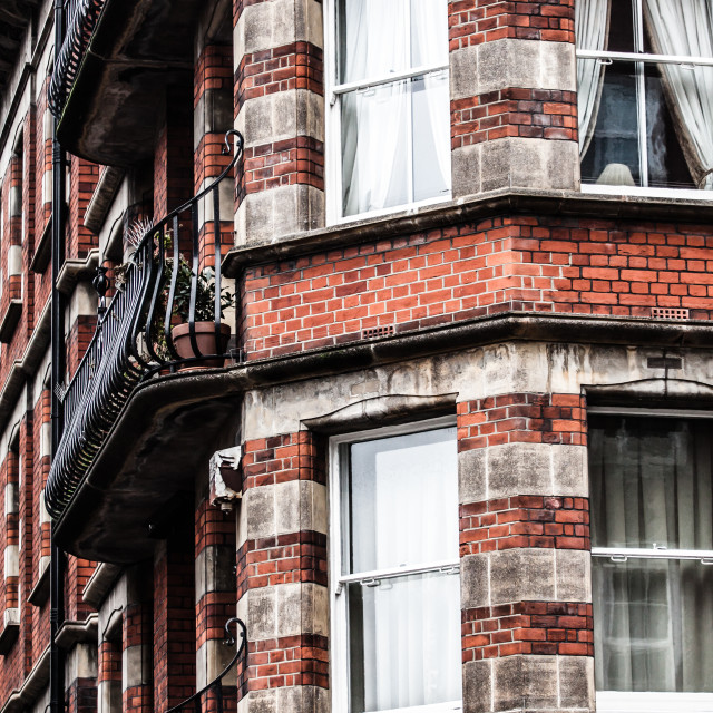 """""""Typical architecture in London."""" stock image"""
