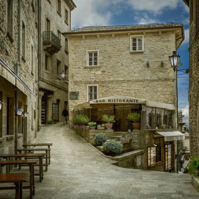 """San Marino"" stock image"