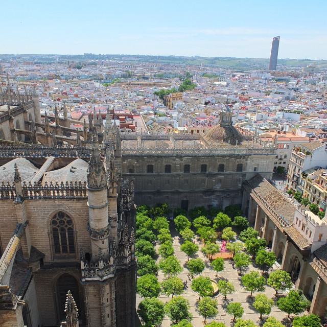 """""""From The Top Of The Giralda"""" stock image"""