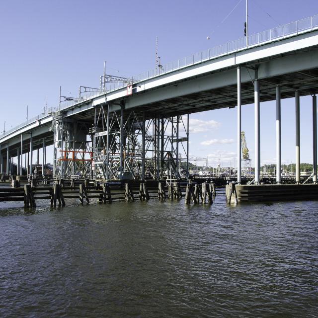 """bridge in Gothenburg"" stock image"