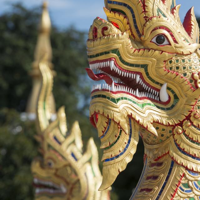"""""""THAILAND ISAN UDON THANI WAT PHOTHISOMPHON"""" stock image"""