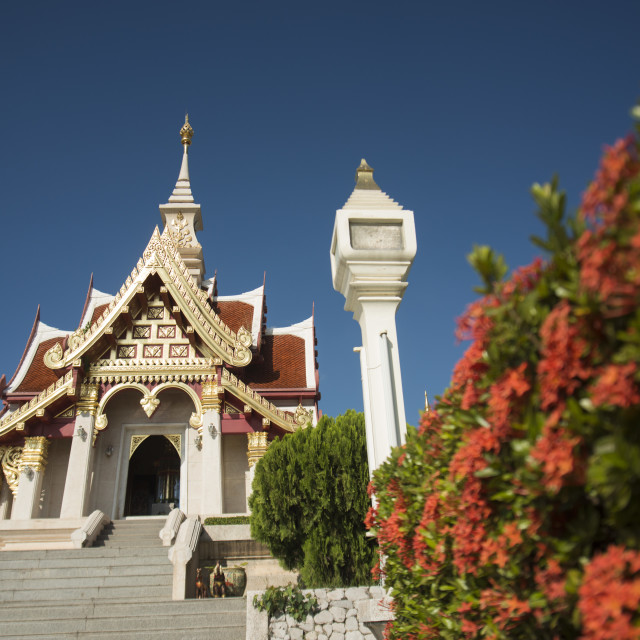 """THAILAND ISAN UDON THANI CITY SHRINE"" stock image"