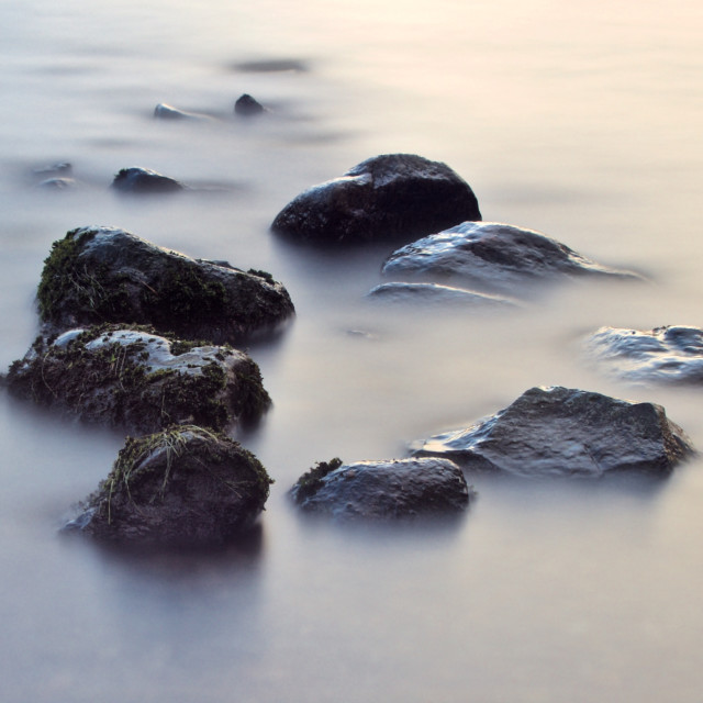 """Simple Stones"" stock image"