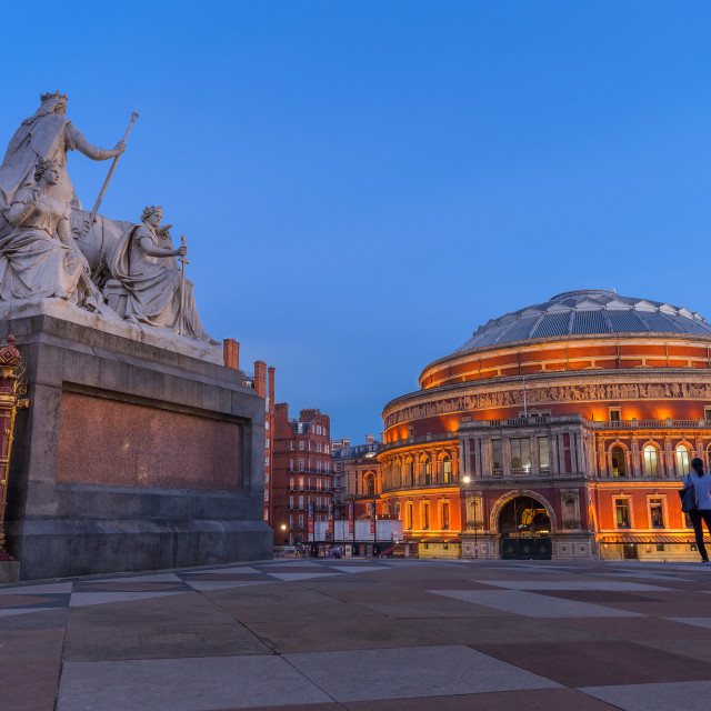 """The Royal Albert Hall"" stock image"