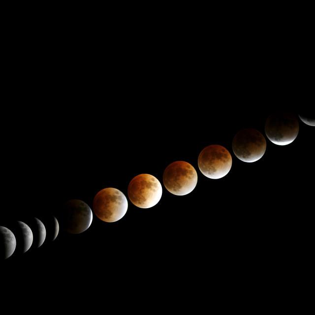 """Lunar Eclipse"" stock image"