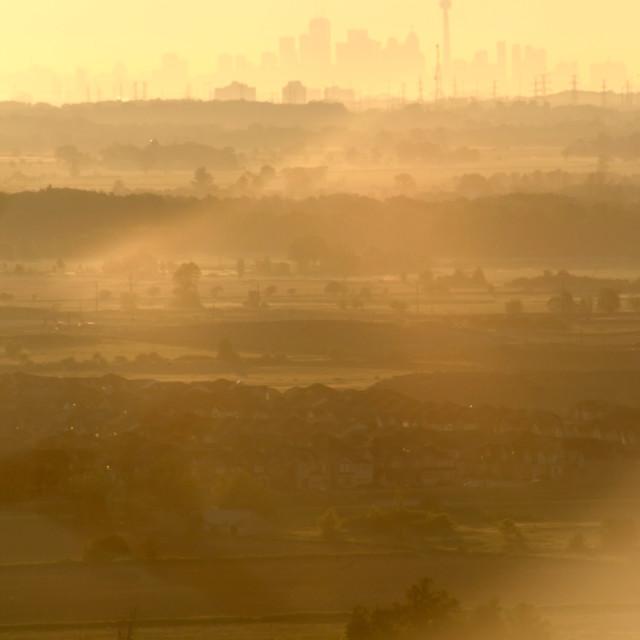 """Morning Smog"" stock image"