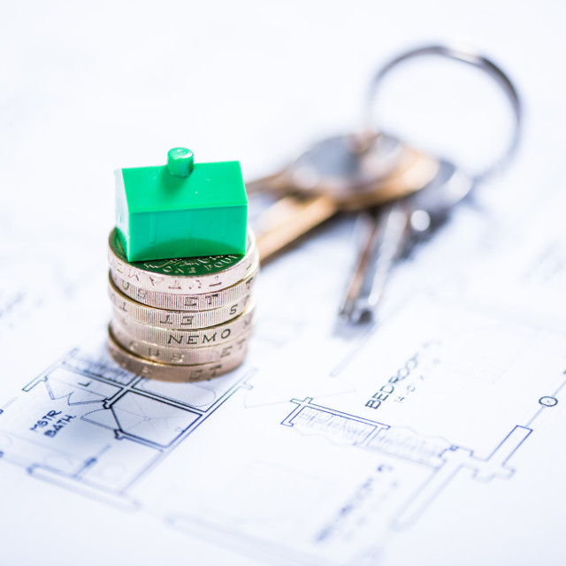 """""""New home owner concept"""" stock image"""