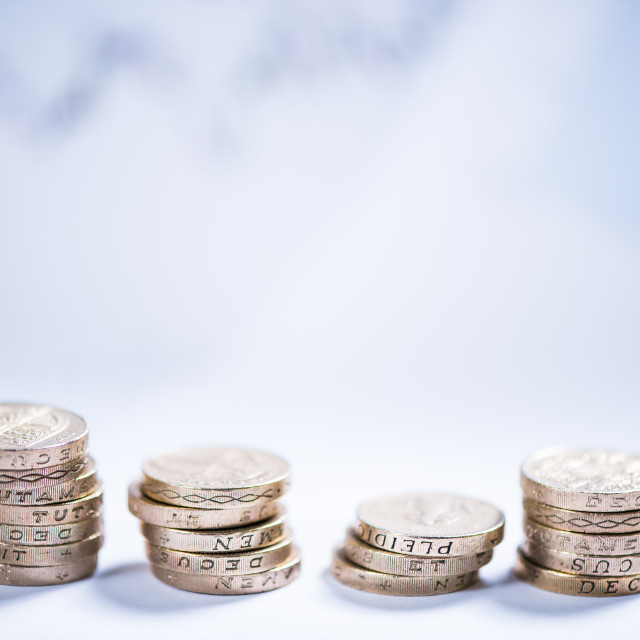 """""""savings and investments in pound sterling"""" stock image"""