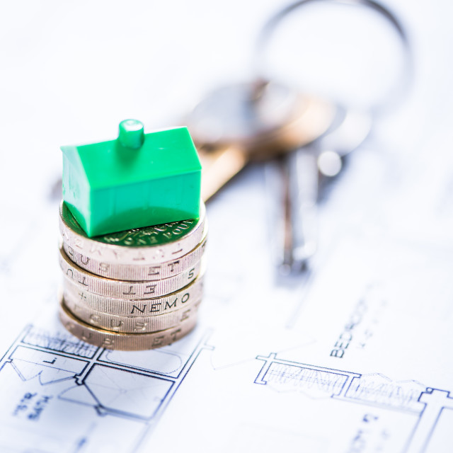 """""""Real estate agency concept"""" stock image"""