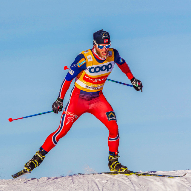 """""""Martin Johnsrud Sundby"""" stock image"""