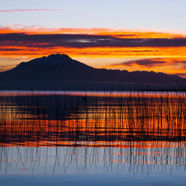"""Calbuco volcano, Chile."" stock image"