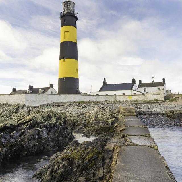 """St. John's Point Lighthouse"" stock image"