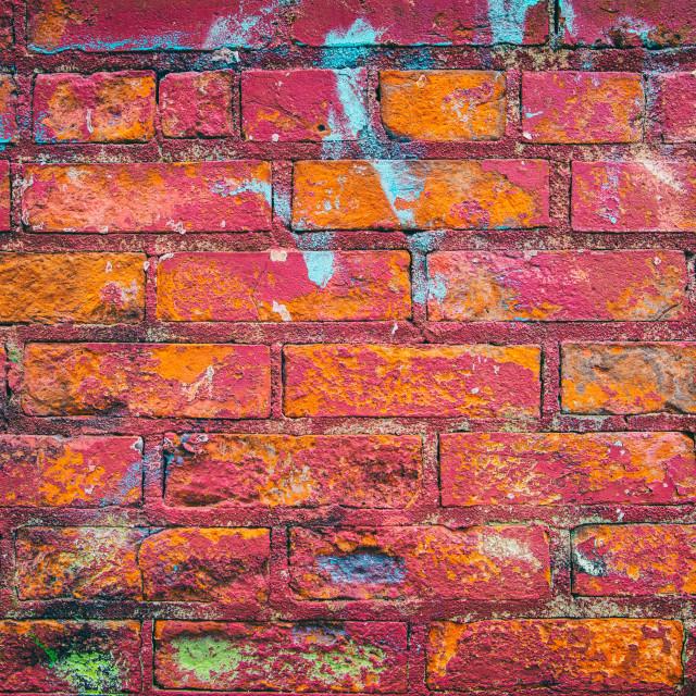 """Brick Wall Texture"" stock image"
